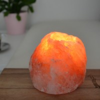 Salt crystal candle holder Himalaya Rock 500g