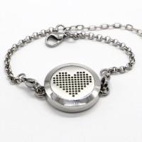Aromatherapy bracelet Pixel Heart