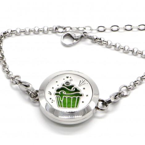 Cup Cake Aromatherapy Bracelet