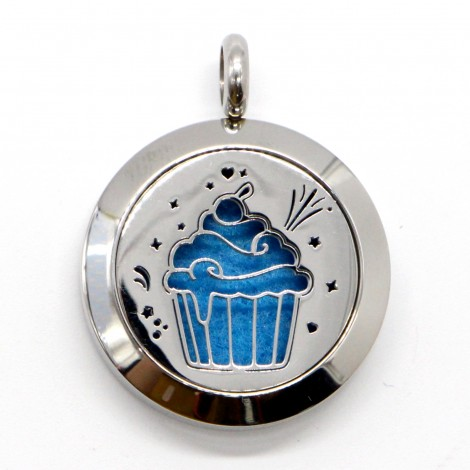 Cup Cake Aromatherapy Necklace