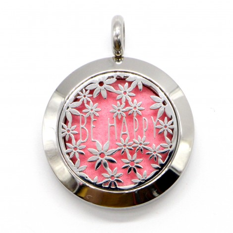 Be Happy Aromatherapy Necklace