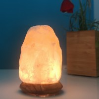 Himalayan Rock Salt Crystal USB Lamp 600g