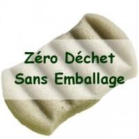 Zero Waste Sponge KONJAC XL Body with Green Clay