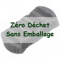 Zero Waste KONJAC XL Body Sponge with Bamboo Charcoal