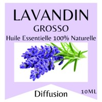 Essential oil 100% Pure and Natural LAVANDIN GROSSO