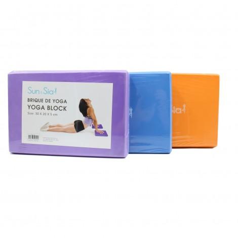 Briques de Yoga - 3 couleurs au choix
