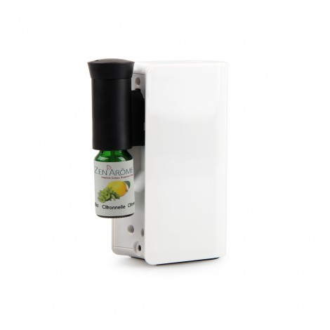 Nebulizing essential oil diffuser - MOBYSENS white