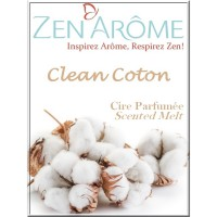 Perfumed Wax - Clean Cotton