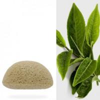 Konjac sponge with Green Tea