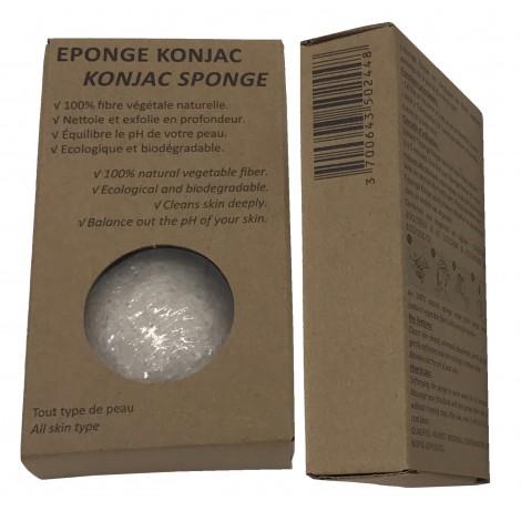 Eponge Konjac XL