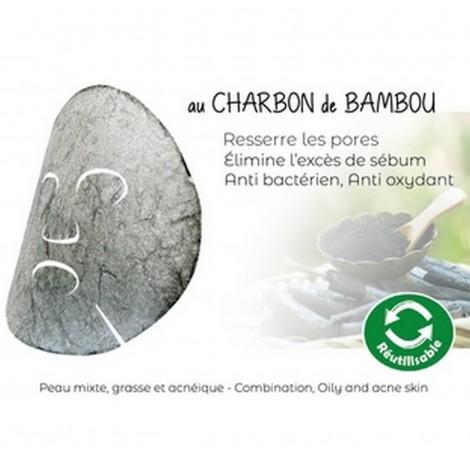 Bamboo Charcoal Konjac Mask