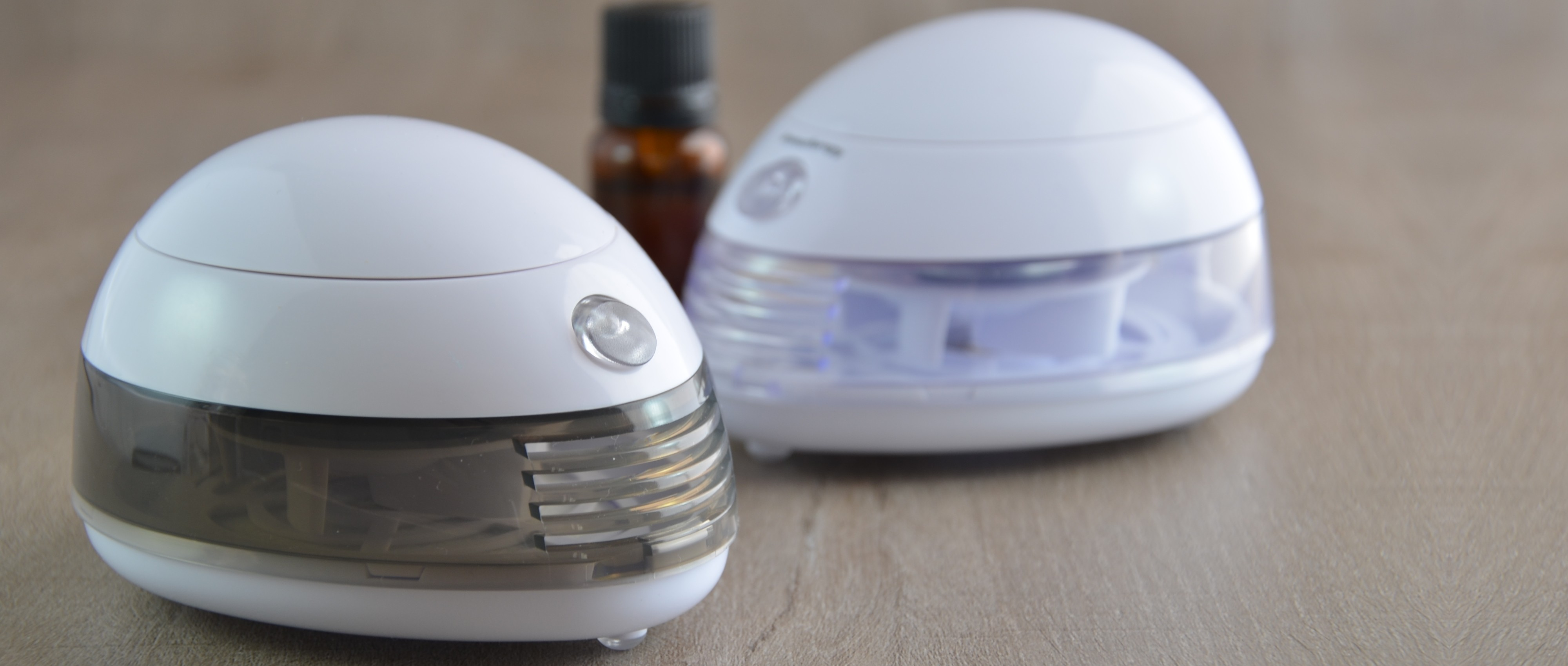 Essential Oils diffuser by ventilation